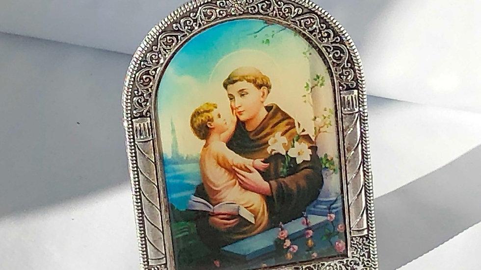 Icône Saint Antoine de Padoue sur pied