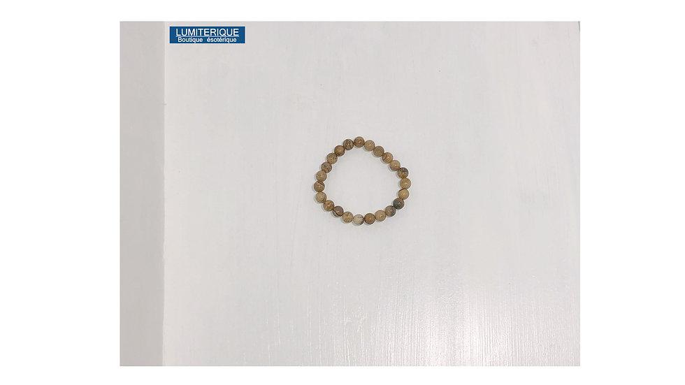 Bracelet en Crazy Agate de lithothérapie
