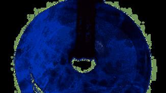 Pendentif donut Sodalite