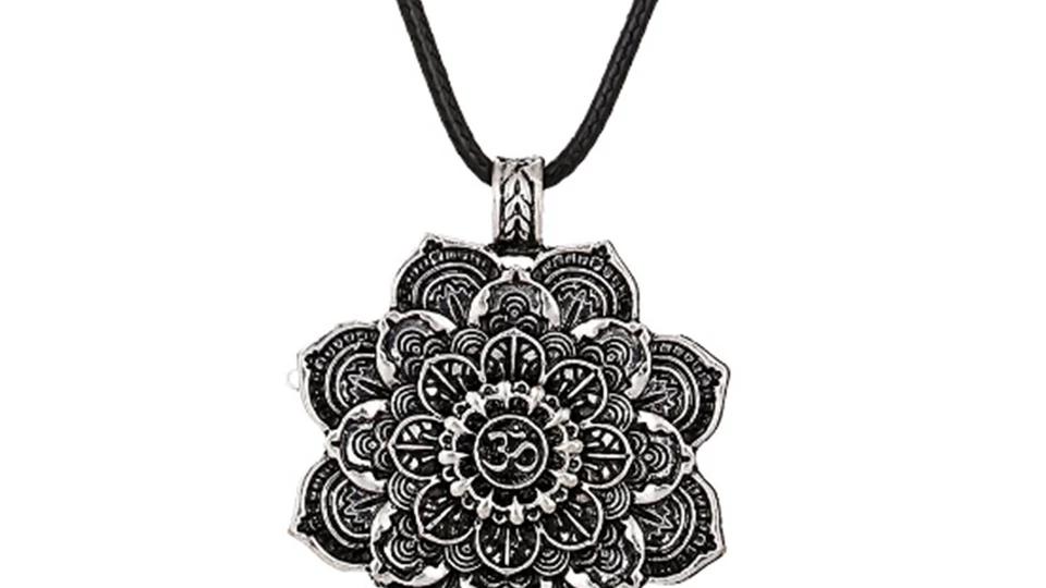 Pendentif Mandala spirituelle