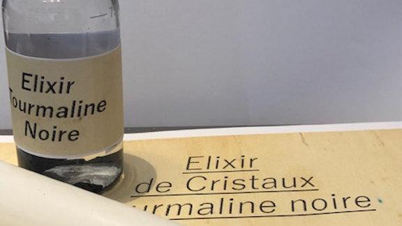 Elixir Cristaux Tourmaline Noire