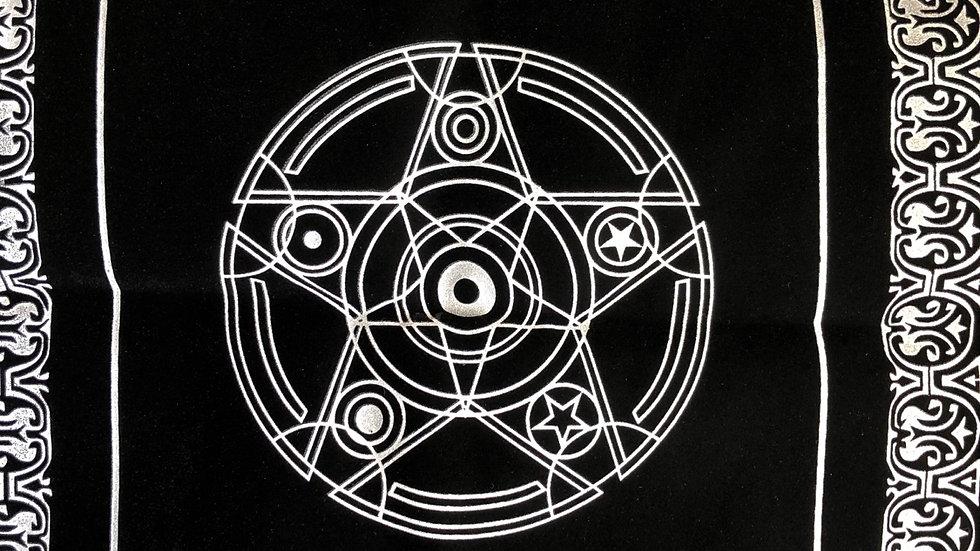 Tapis pour cartes divinatoires tarots et autel