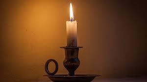 Médiumnité et la bougie - le feu