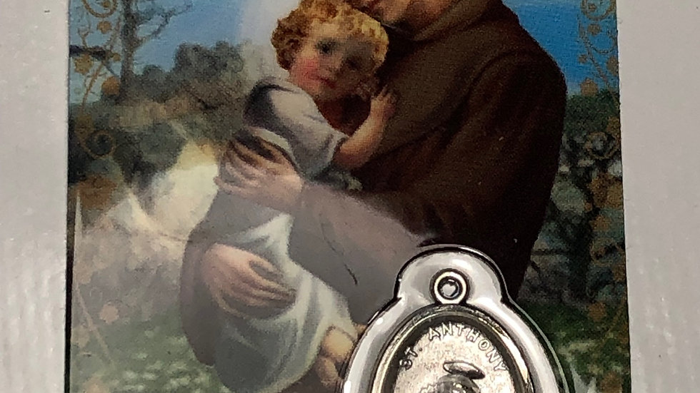 Médaille Saint Antoine