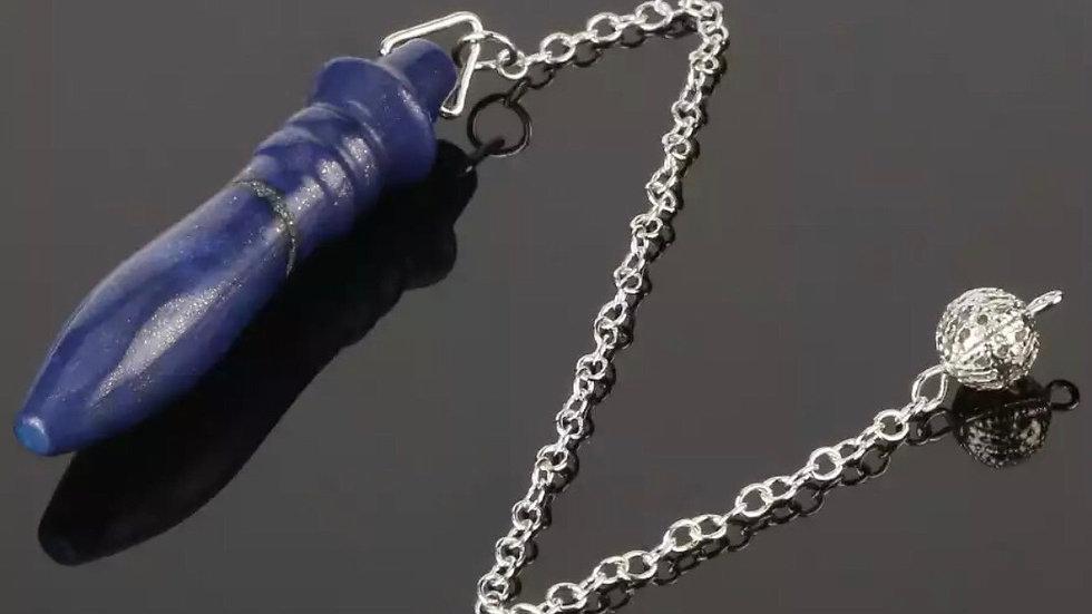 Pendule divinatoire égyptien lapis lazulis