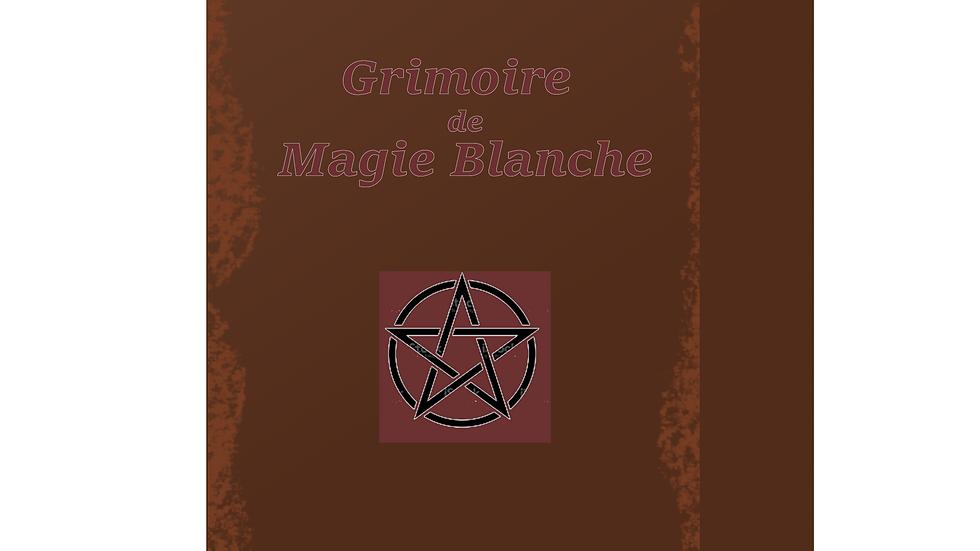 Grimoire vierge de magie blanche