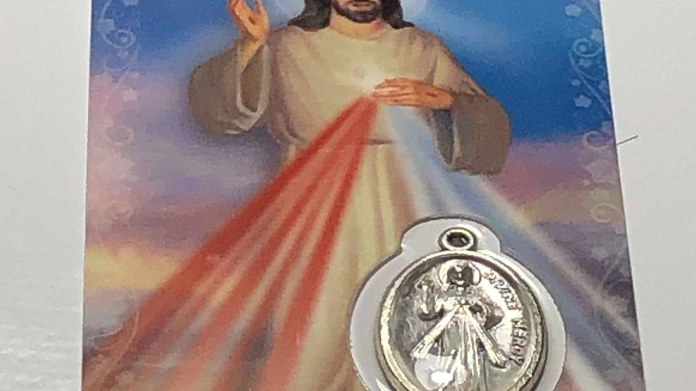 MédailleJésus miséricorde