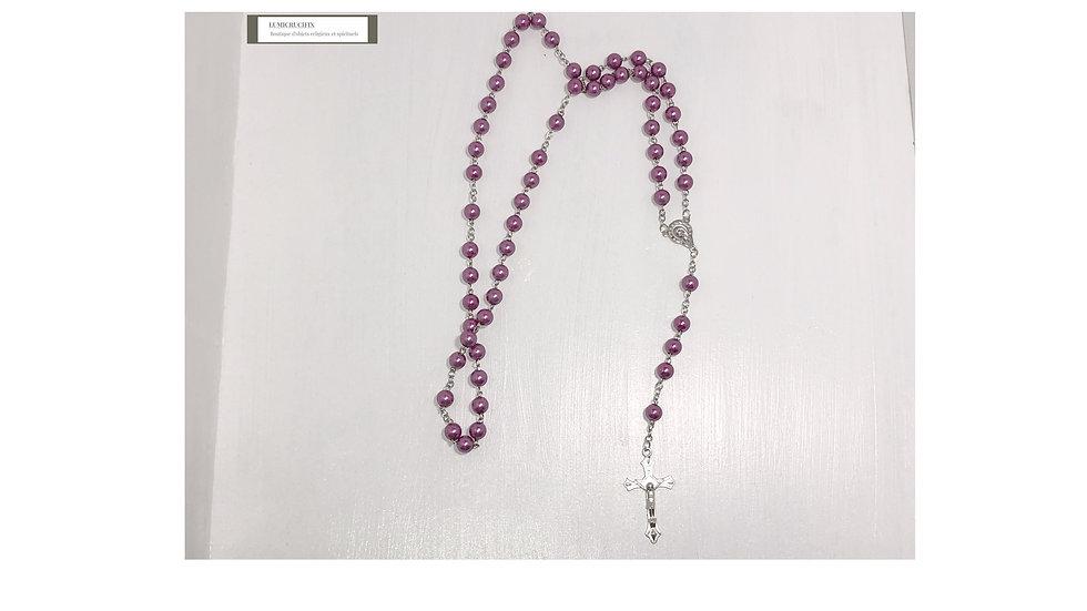 Chapelet violet
