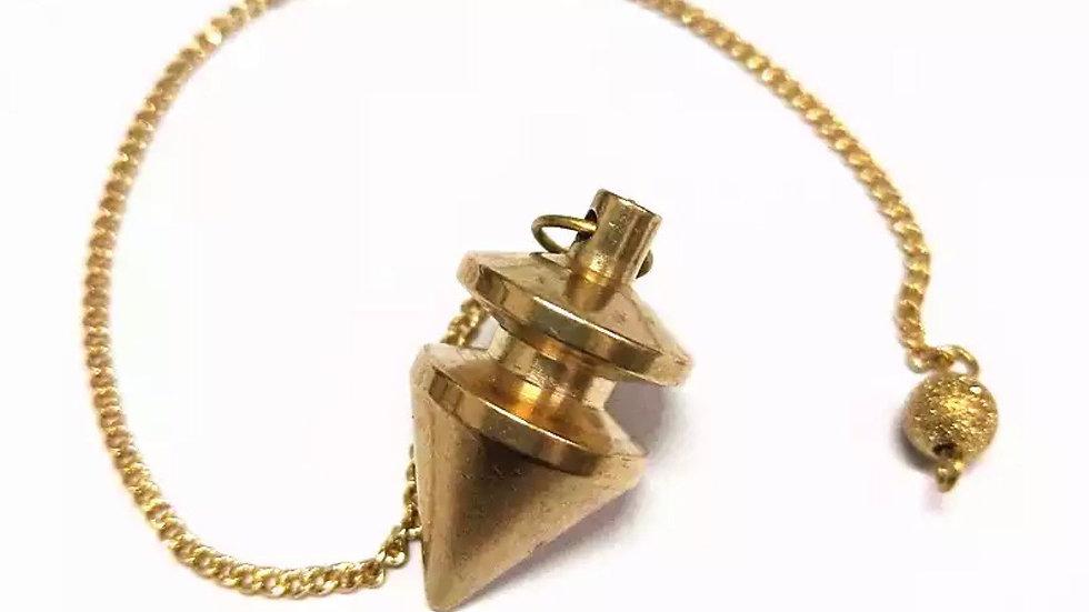 Pendule divinatoire métal