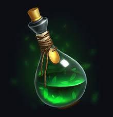 Lumiterique et les philtres d'amour, Potions magique et Elixir