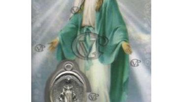 Carte de prière Notre dame des miracles