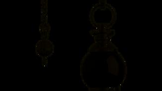 Pendule en Onyx noir