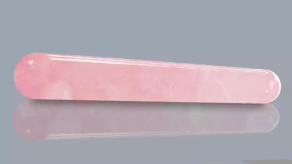 Bâton de massage en Quartz rose