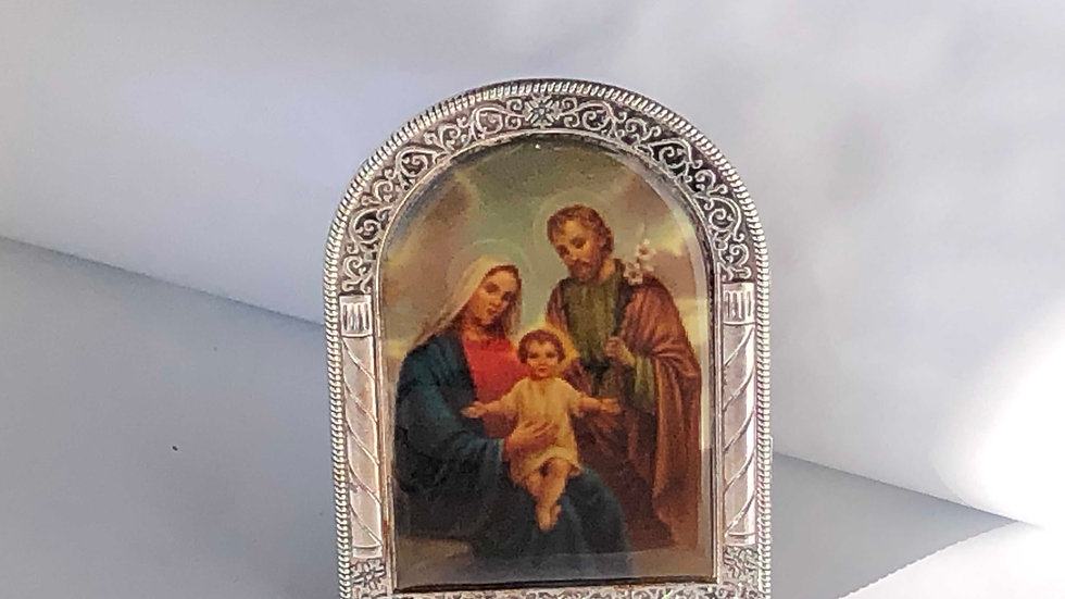 Icône de la Sainte Famille sur pied