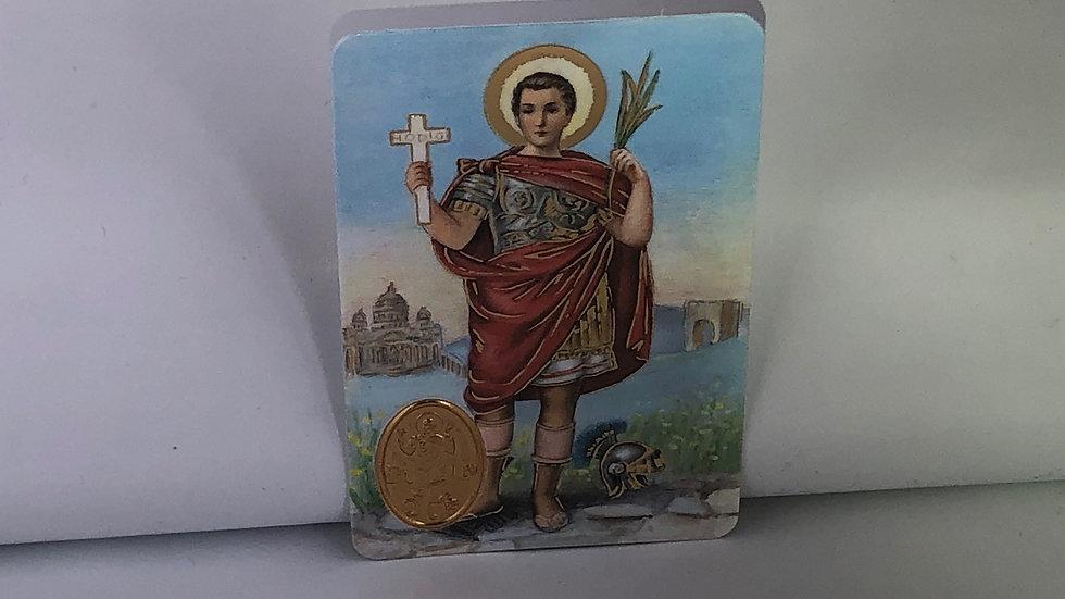 Carte de prière Saint Expedit