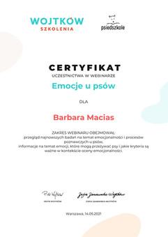 Barbara-Macias-Emocje-u-psow-Certyfikat-