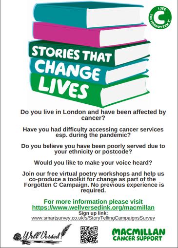 Free virtual poetry workshops
