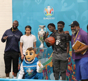 Selby Centre features as a stop on Euro 2020 Trophy tour!