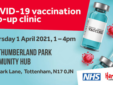 COVID-19 vaccination pop-up clinic