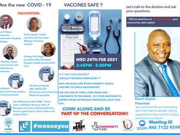 Are COVID-19 Vaccines Safe? (Public Webinar)