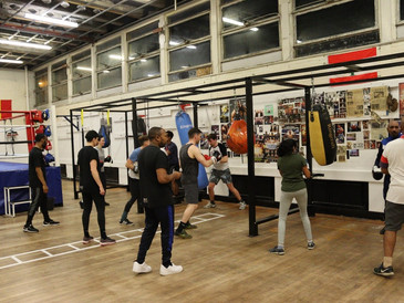 Selby Urban Village: Team boxing event