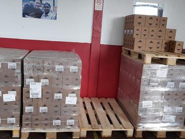 Selby Food Hub - Hand Sanitiser donation
