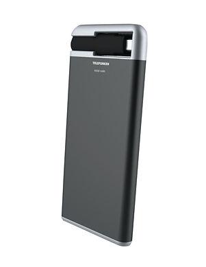 Batterie externe Telefunken à charge rapide d'une capacité de 4000 MaH avec cable de charge intégré