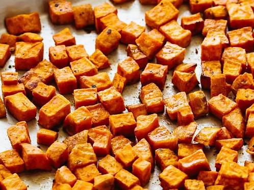 Organic Roasted Sweet Potatoes