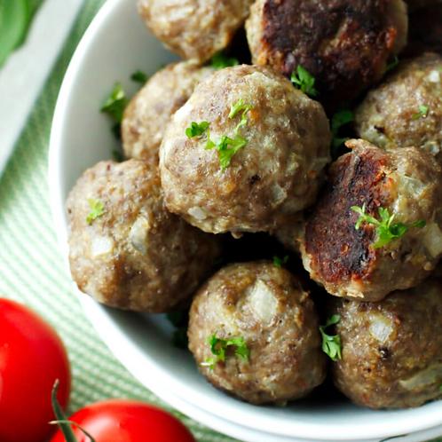 Organic Meatballs