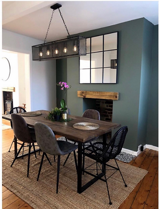 The Denton. U Frame Dining Table