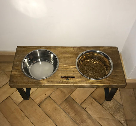 The Gorton. U Frame Pet Feeding Station