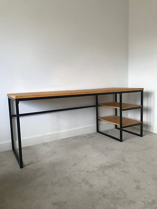 The Cheadle. Desk with Shelves