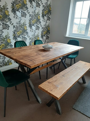 The Hyde. X Dining Table