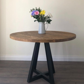 The Monton. Round Dining Table - Best Seller