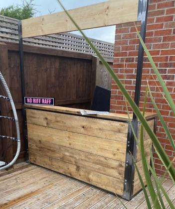 The Stockport. Garden Bar