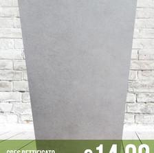Gres porcellanato rettificato 40 x 80 | Effetto cemento