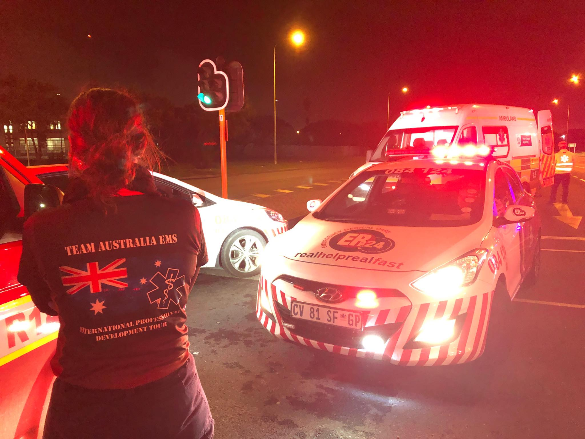 Team Australia EMS in South Africa
