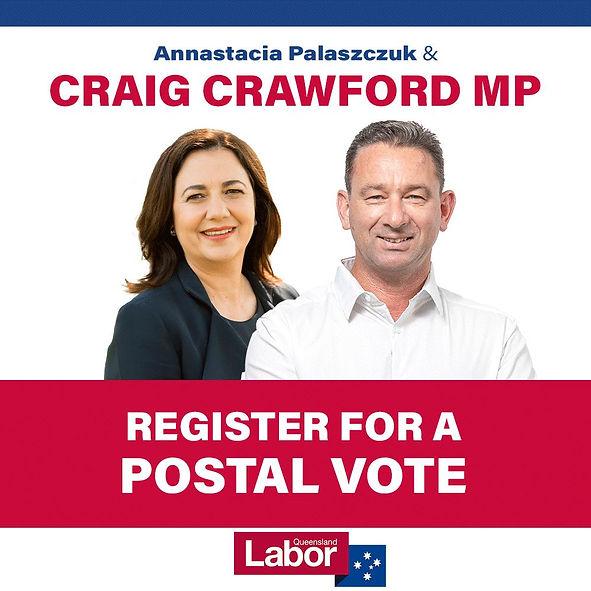 Craig Crawford Postal Vote