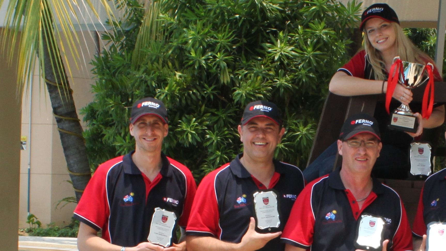 Team Australia EMS in Singapore