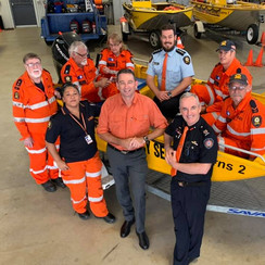 Spending some time with the local SES volunteers here in Cairns