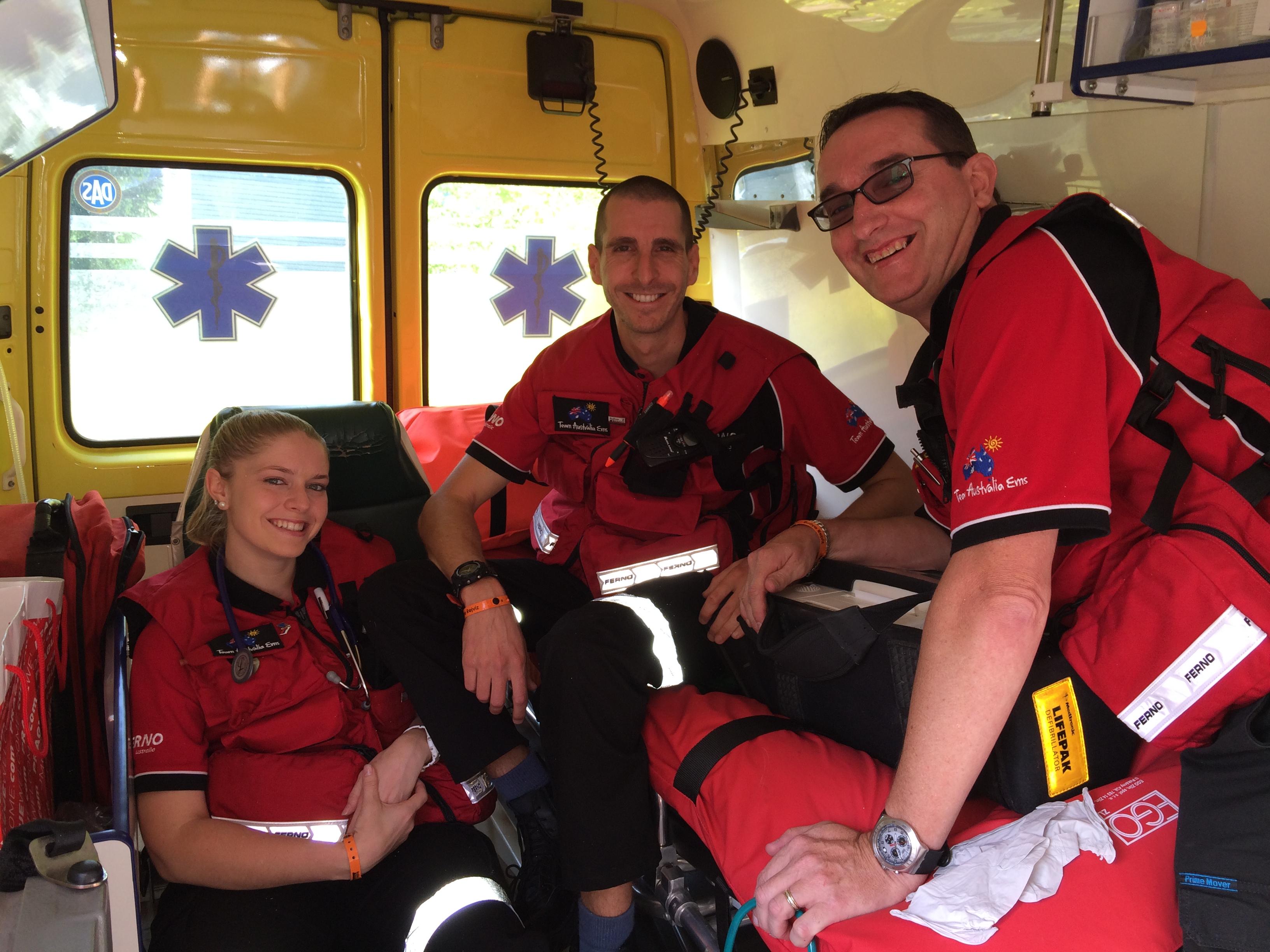 Team Australia EMS in Europe - Czech Rep