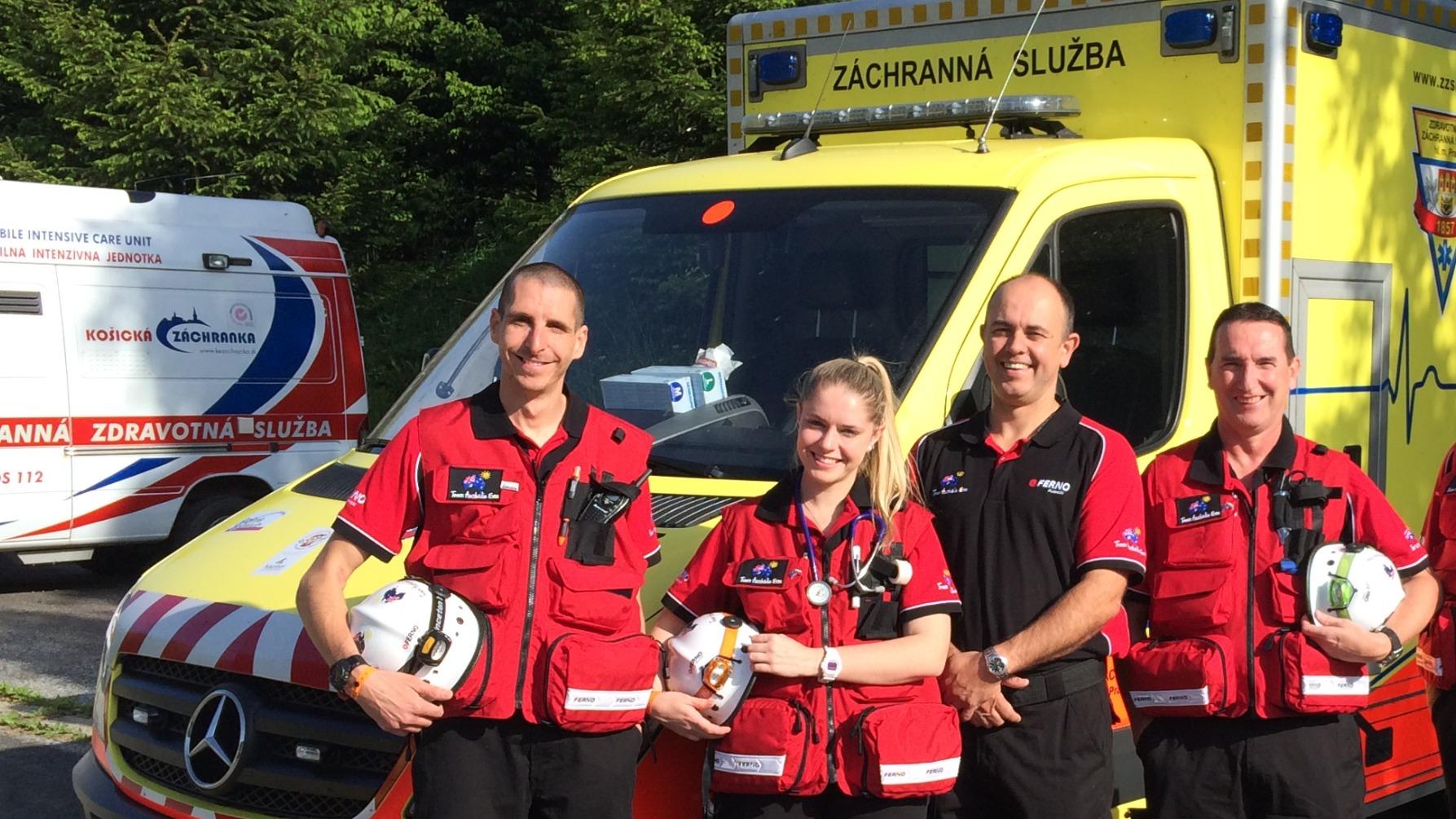 Team Australia EMS in Czech Republic