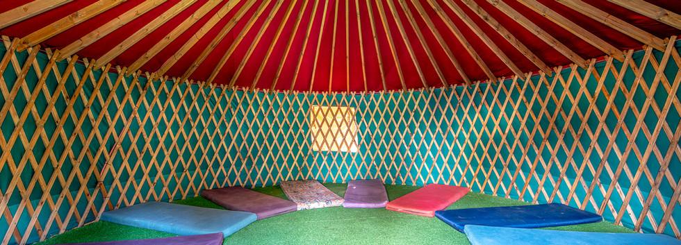 אוהל מונגולי (יורט) ממוזג
