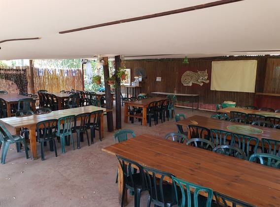 חדר אוכל אורחים