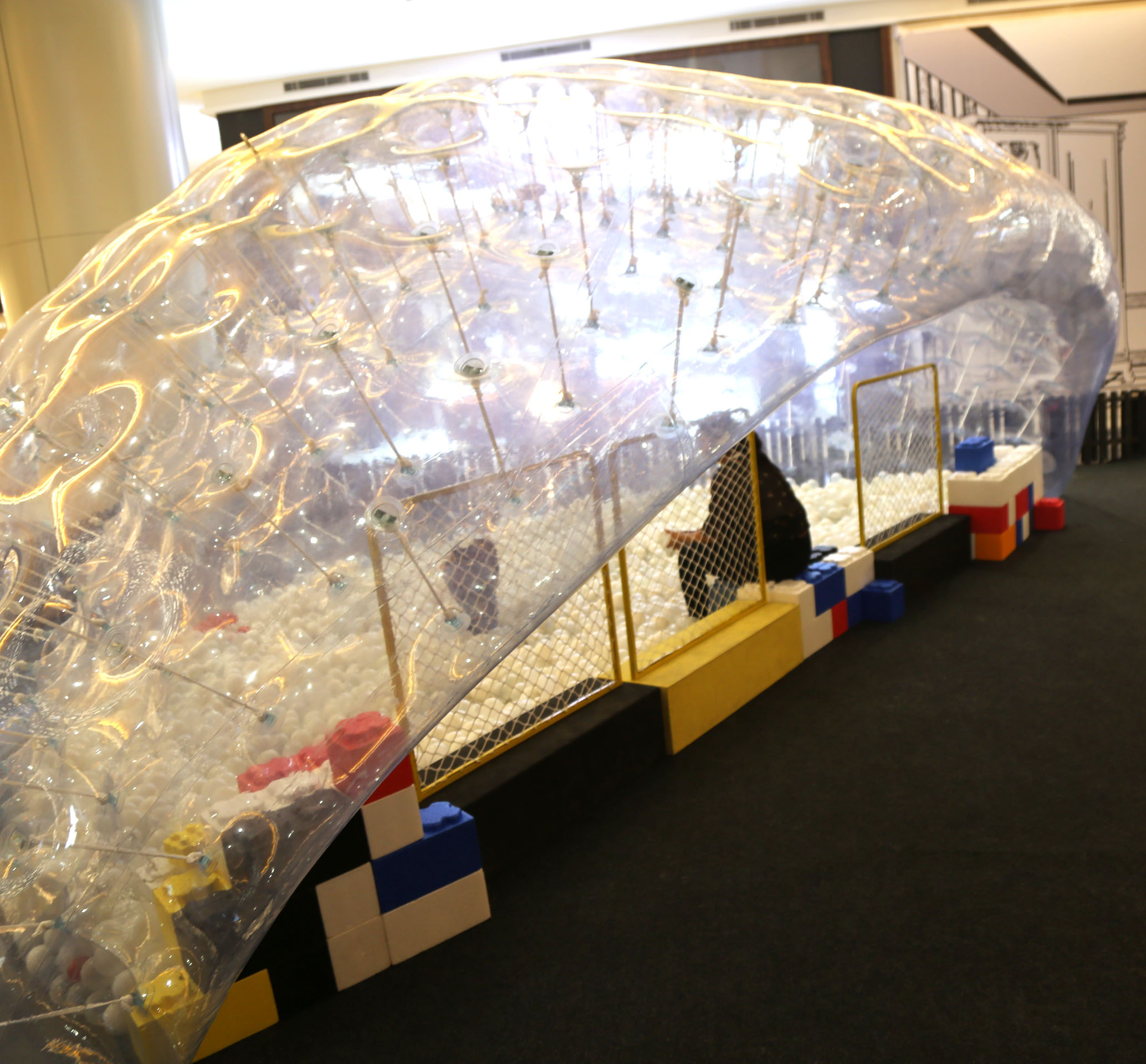 Transparent Inflatable Dome