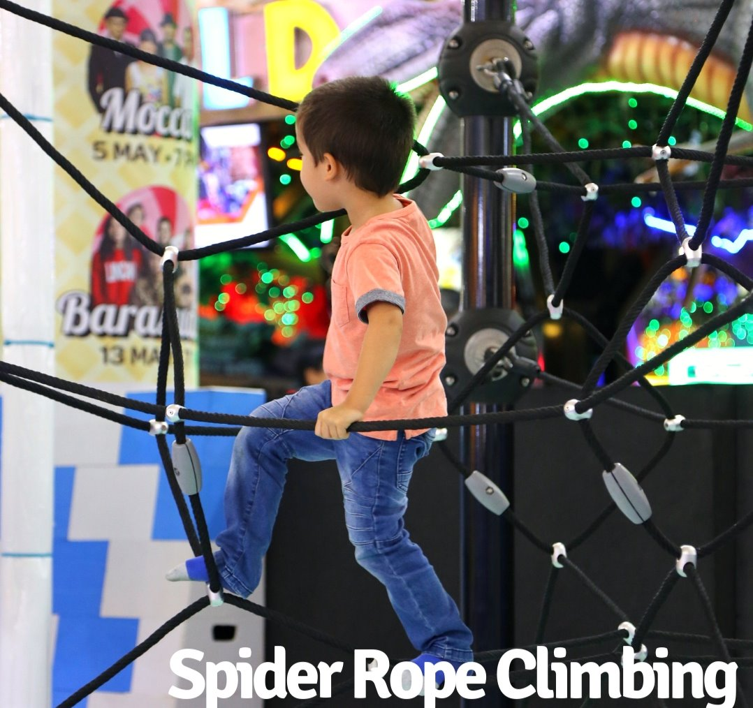 Spider Rope Climbing