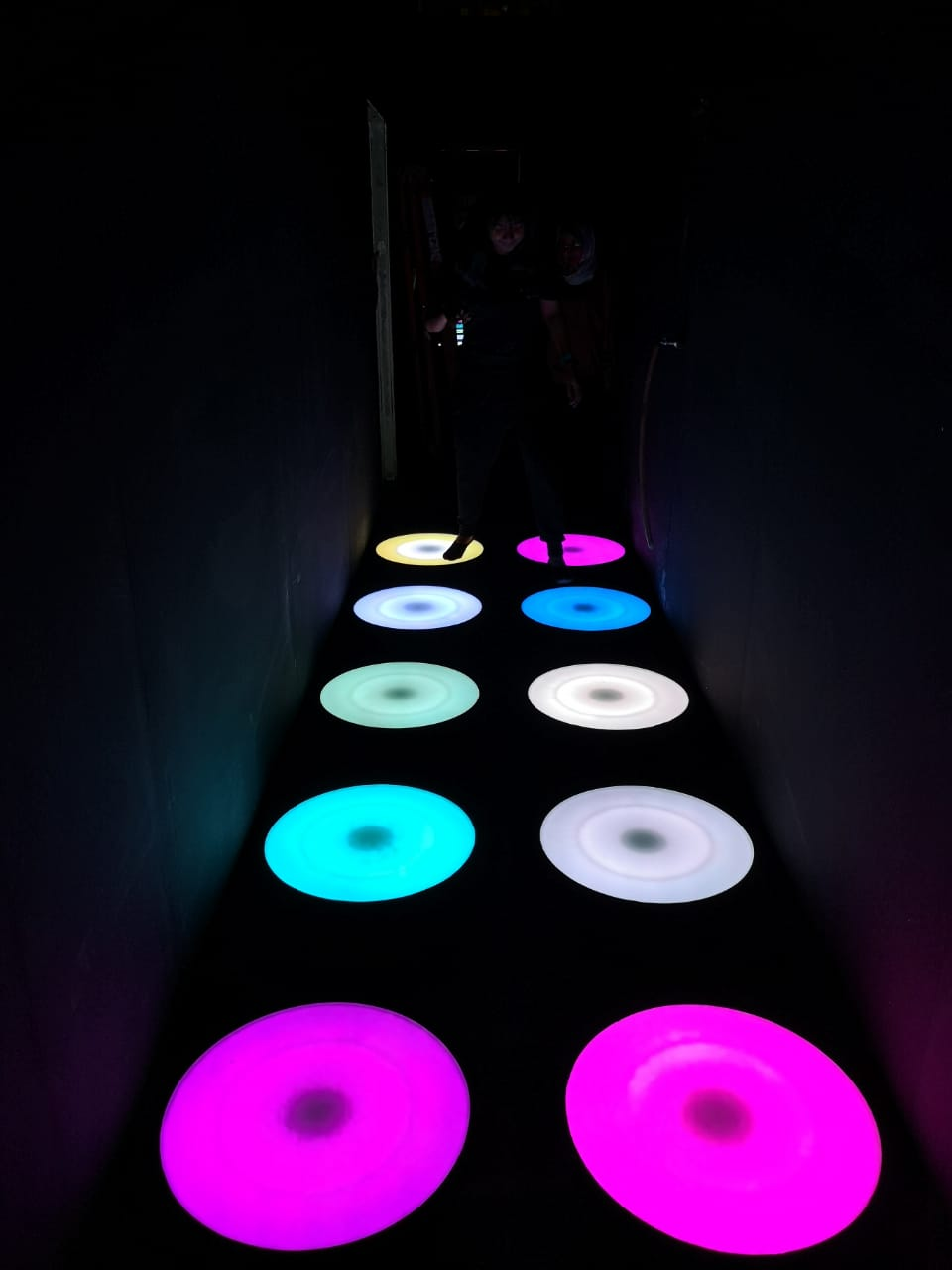 Light Jumping Pad