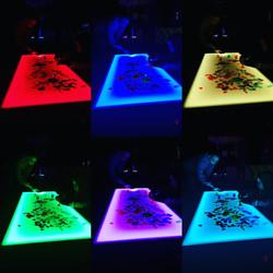 Colour Wheel Light Table