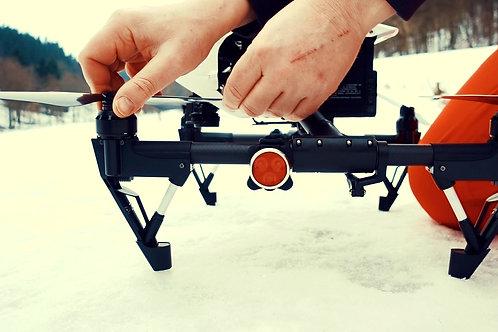 Positionslichter für Drohnen - steuerbord & backbord