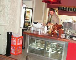 Bunker Cafe - Fridges